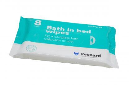 Reynard bath in bed wipes pack