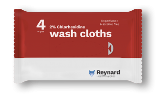 chlorhexidine wash cloths