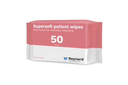 Supersoft patient wipes