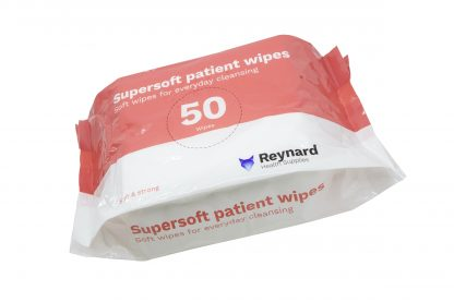 Reynard supersoft patient wipes pack