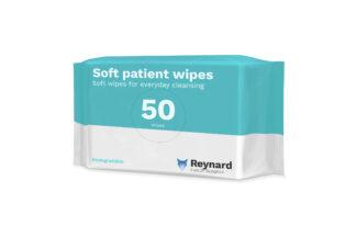 Biodegradable soft patient wipes