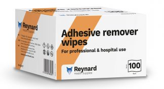 Adhesive remover box