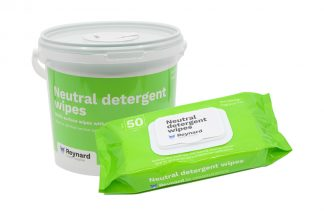 Tub and pack of reynard neutral wipes