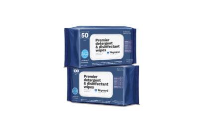 Reynard Premier Wipe soft packs