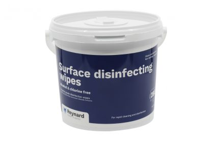 Tub of Reynard surface disinfecting wipes